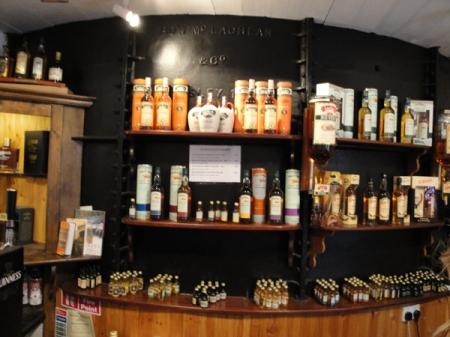 Colección de los whiskeys de John Locke